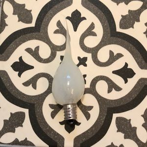 NWT Clear Silicone Dipped 7W Country Style Bulbs